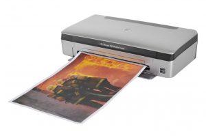imprimante mini portative a jet d'encre