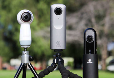 appareils photo 360°