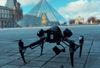 drones pour le tournage et la photographie professionnels